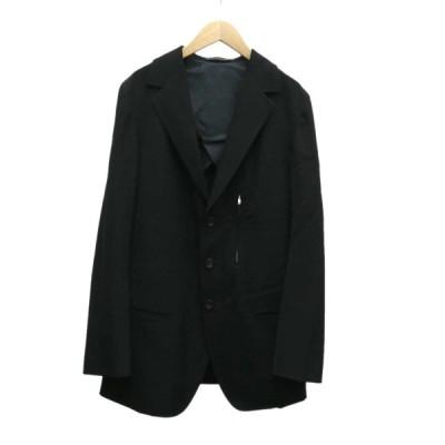 【4月13日値下】Y'S テーラードジャケット ブラック サイズ:3 (堅田店)
