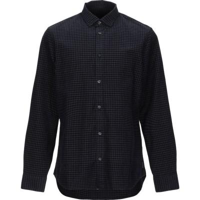アルマーニ ARMANI EXCHANGE メンズ シャツ トップス checked shirt Dark blue