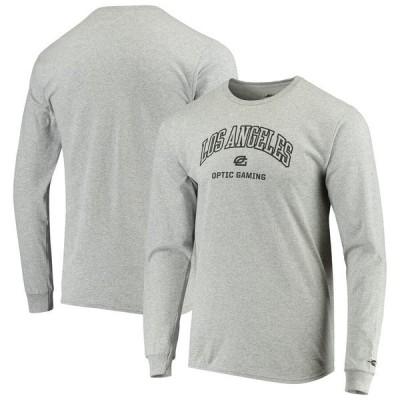 アウタースタッフ メンズ Tシャツ トップス OpTic Gaming Los Angeles Rotation Long Sleeve T-Shirt