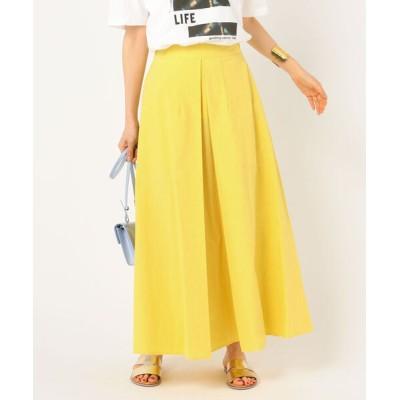 NOLLEY'S / 【WEB限定カラーあり】前タックロングスカート WOMEN スカート > スカート