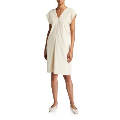 ザ ロウ レディース ワンピース トップス Perry Dolman-Sleeve Knee-Length Dress