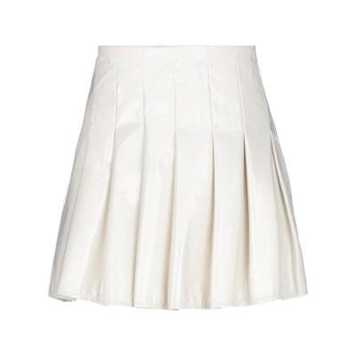 VANESSA SCOTT ミニスカート ホワイト S ポリウレタン 60% / ポリエステル 40% ミニスカート