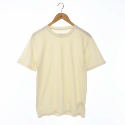 【中古】マルタンマルジェラ Martin Margiela 10 20SS クルーネックTシャツ カットソー 半袖 S アイボリー S50GC0552
