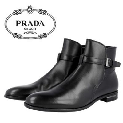 ☆送料無料☆1 PRADA プラダ 2TC029 070 F0002 ドレスシューズ 靴 ブーツ size 7.5