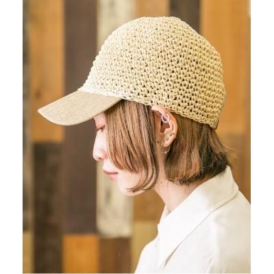 Shop無 / 手編みペーパーキャップ WOMEN 帽子 > キャップ