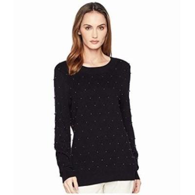 カルバンクライン レディース スウェット ジャージ Diamond Stitch All Over Pearl Sweater