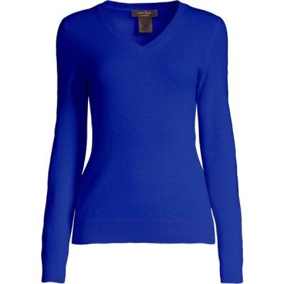 ロード アンド テイラー Lord & Taylor レディース ニット・セーター Vネック トップス Essential V-Neck Cashmere Sweater