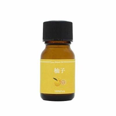 【新品】天然100% 柚子オイル (高知県産) 10ml アロマオイル ゆず 精油 ゆず油