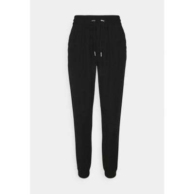 レディース ファッション ONLKELDA EMERY PULL UP PANTS - Trousers - black