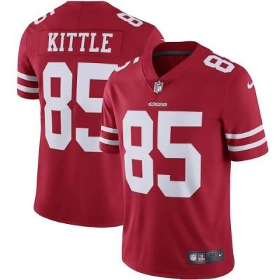 """メンズ ジャージー George Kittle """"San Francisco 49ers"""" Nike Vapor Limited Jersey - Scarlet"""