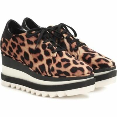 ステラ マッカートニー Stella McCartney レディース スニーカー シューズ・靴 sneak-elyse platform sneakers Tan/Blk/Blk/B/W/B