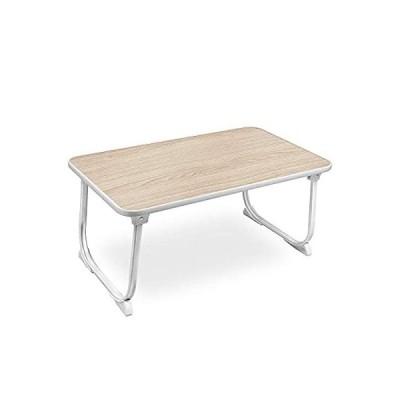 SunBroy 折れ脚 ローテーブル 折りたたみテーブル ちゃぶ台 折り畳みテーブル 座卓 トレーテーブル キャンプテー ブル PCデスク 軽量 コン