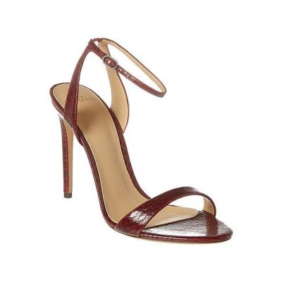 レディース シューズ  Alexandre Birman Willow 110 Snake-Embossed Leather Sandal