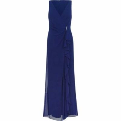 ラルフ ローレン Lauren Ralph Lauren Occasion レディース パーティードレス ワンピース・ドレス lrl hermina dress Cannes Blue