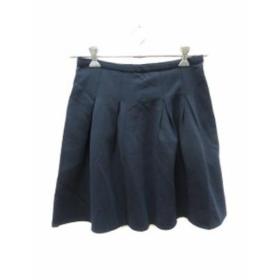 【中古】バンヤードストーム BARNYARDSTORM スカート フレア ミニ 1 紺 ネイビー /ST レディース