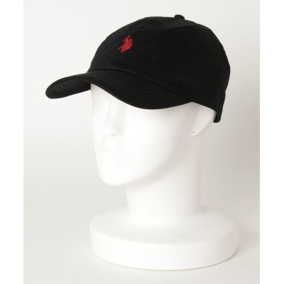 JEANS MATE / 【U.S.POLO ASSN.】ロゴローキャップ ワンポイント刺繍 MEN 帽子 > キャップ