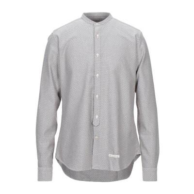TINTORIA MATTEI 954 シャツ ライトグレー 38 コットン 100% シャツ