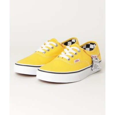 スニーカー VANS ヴァンズ VN0A4UUC1AE AUTHENTIC HC (DIY)LEMON CHRO