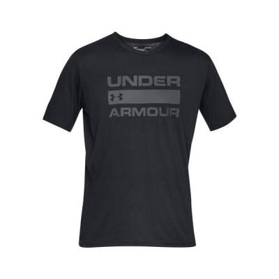 アンダーアーマー(UNDER ARMOUR) Tシャツ 半袖 メンズ チーム イシュー ワードマーク 1358570 BLK/RGY AT オンライン価格 (メンズ)