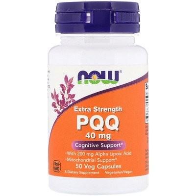 Extra Strength PQQ, 40 mg, 50 Veg Capsules