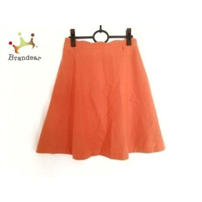 ホコモモラ JOCOMOMOLA スカート サイズ40 XL レディース 美品 ブラウン de syblla     スペシャル特価 20200506