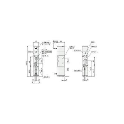 電磁弁240シリーズ コガネイ 240-4E2 DC24