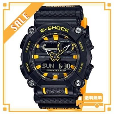 [カシオ] 腕時計 ジーショック GA-900A-1A9JF メンズ イエロー
