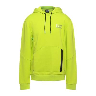 EA7 スウェットシャツ ビタミングリーン 3XL コットン 51% / ポリエステル 49% スウェットシャツ