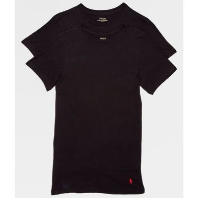 ラルフ ローレン Polo Ralph Lauren メンズ Tシャツ 2点セット 大きいサイズ トップス big & tall crew neck t-shirt 2-pack Black