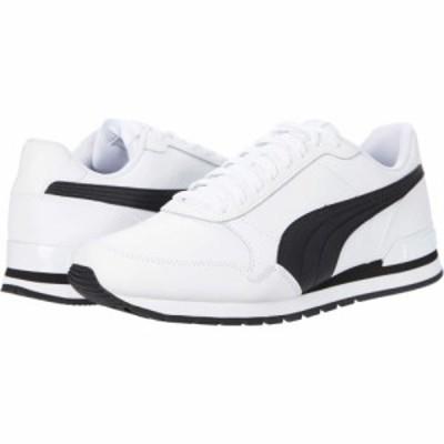 プーマ PUMA メンズ スニーカー シューズ・靴 St Runner V2 Full L Puma White/Puma Black