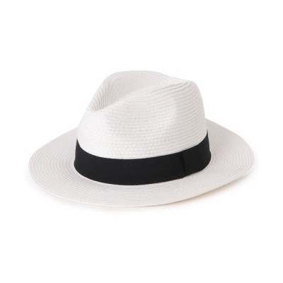 WORLD ONLINE STORE SELECT / リボン中折れブレードハット WOMEN 帽子 > ハット