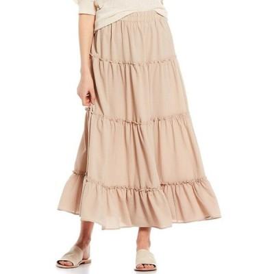ブルーペッペーブルーペッパー レディース スカート ボトムス Tiered Maxi Skirt