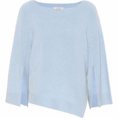 ドロシー シューマッハ Dorothee Schumacher レディース ニット・セーター トップス irresistible ease wool-blend sweater Sky blue