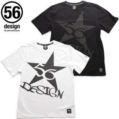 ポイント2倍(56デザイン/56design)56design ONE STAR T-SHIRT メンズ レディース 半袖 Tシャツ クルーネック(P.U)