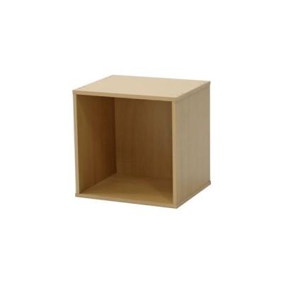 キューブボックス CUBE BOX オープン ナチュラル (収納ボックス ディスプレイラック 棚)【組立品】 [▲][TP]