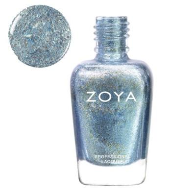 ZOYA  ゾヤ ゾーヤ ネイルカラー ZP673 HAZEL ハゼル 15mL 自爪 の為に作られた ネイル にやさしい 自然派 マニキュア zoya セルフネイル  ブルー