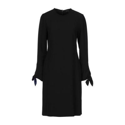 ANTONELLI シルクドレス ファッション  レディースファッション  ドレス、ブライダル  パーティドレス ブラック
