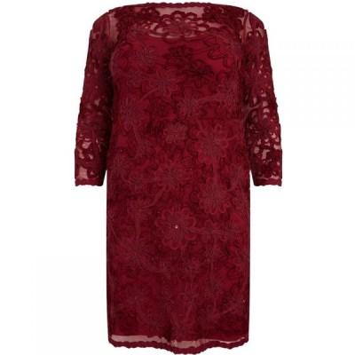 スタジオ8 Studio 8 レディース ワンピース ワンピース・ドレス Coralie tapework dress Red