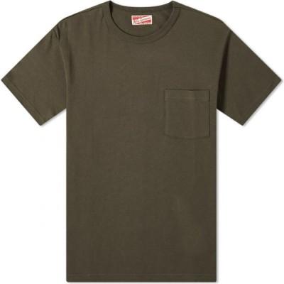 ザ リアル マッコイズ The Real McCoys メンズ Tシャツ ポケット トップス the real mccoy's joe mccoy pocket tee Chale