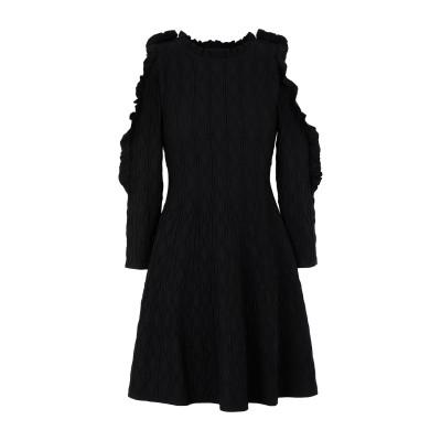 クープルズ THE KOOPLES ミニワンピース&ドレス ブラック 1 54% ナイロン 46% レーヨン ミニワンピース&ドレス