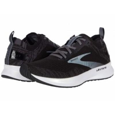 Brooks ブルックス レディース 女性用 シューズ 靴 スニーカー 運動靴 Levitate 4 Running Shoe Black/Blackened【送料無料】