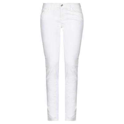 ロイ ロジャース ROŸ ROGER'S パンツ ホワイト 28 コットン 60% / ポリウレタン® 37% / ポリウレタン 3% パンツ