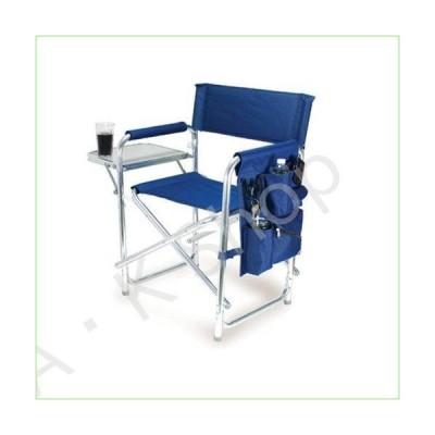 Graphic Image Aluminum Sports Chair, Navy Blue【並行輸入品】