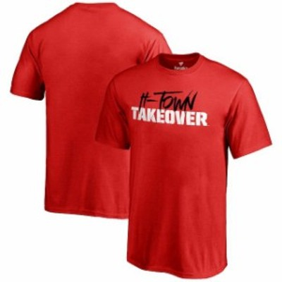 Fanatics Branded ファナティクス ブランド スポーツ用品  Houston Cougars Youth Red H-Town Takeover T-Shirt