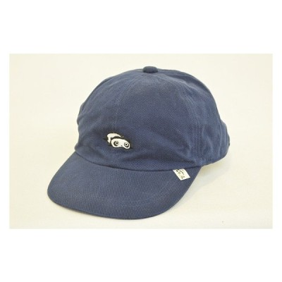 六方キャップ キッズ ジュニア たれぱんだ 9751205 ネイビー 紺 帽子 スポーツ ファッション かわいい お出かけ お散歩 手洗い ネット通販 オールシーズン