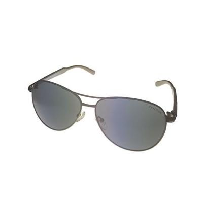 Kenneth Cole Reaction Gunmetal Aviator/Smoke Lenses Sunglasses【並行輸入品】