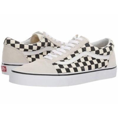 バンズ メンズ スニーカー シューズ Old Skool (Checkerboard) White/Black