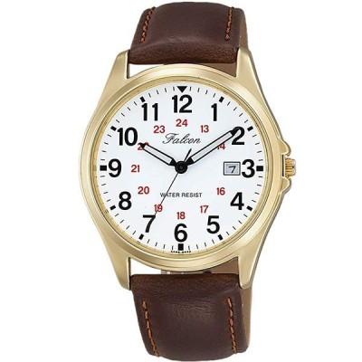 【正規品】キュー&キュー Q&Q 腕時計 D026-104 CITIZEN シチズン Falcon ファルコン チプシチ クオーツ メンズ