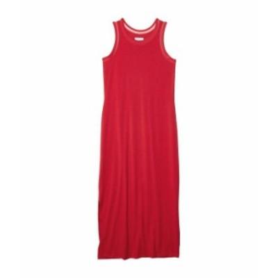コロンビア レディース ワンピース トップス Slack Water¢ Knit Maxi Dress Red Lily