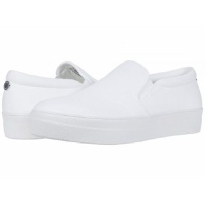 Steve Madden スティーブマデン レディース 女性用 シューズ 靴 スニーカー 運動靴 Gills-C Sneaker White【送料無料】